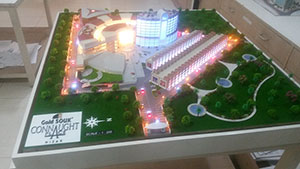 Site Development Scale Model